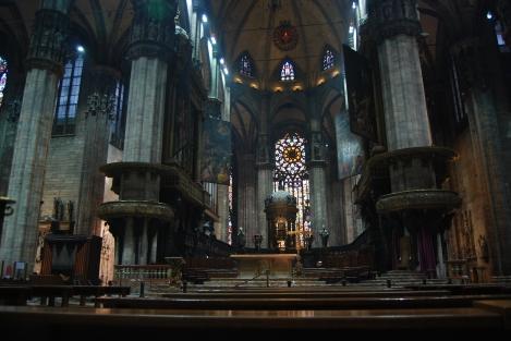 米蘭主教座內部