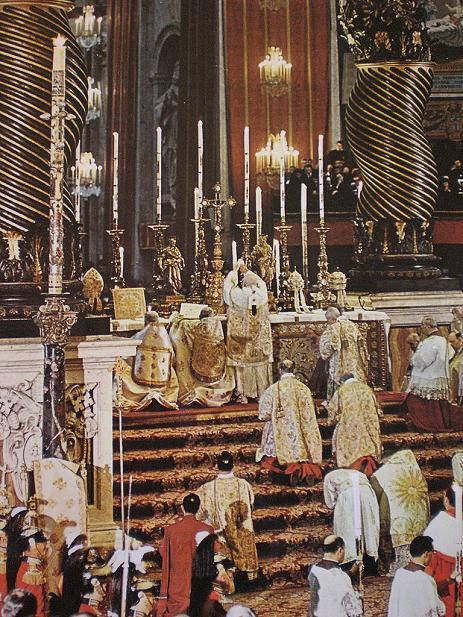若望廿三世主祭 Papal High Mass。﹝時間不詳﹞
