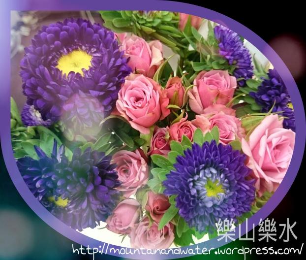 筆者亂買亂插的花兒。愛花。沒人送就自己買吧,從插花享受另一種樂趣。