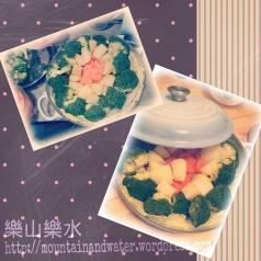 守齋煮意:蒸香草雜菜