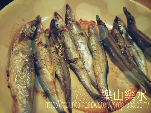 超簡易焗多春魚