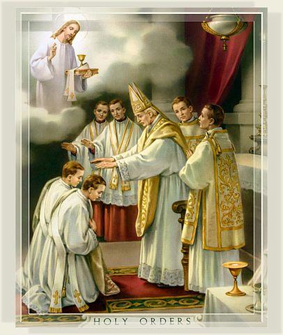 聖秩聖事的聖相