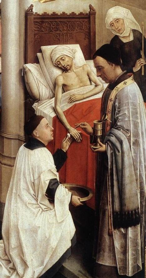 Seven Sacraments Altarpiece, Rogier van der Weyden (1445-50)