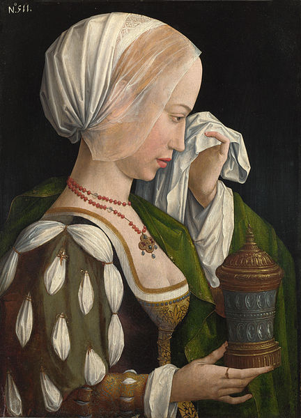 432px-Workshop_of_Master_of_the_Magdalen_Legend_-_The_Magdalen_Weeping_NG3116