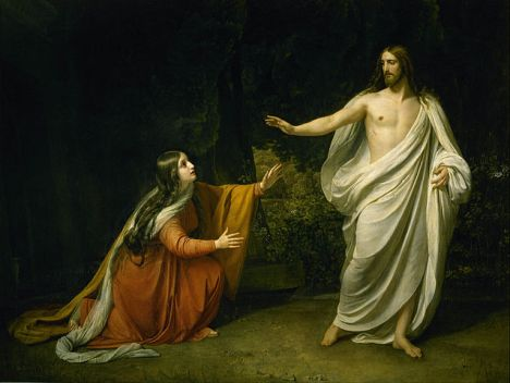 Christ's Appearance to Mary Magdalene after the Resurrection, by Alexander Ivanov (1835)