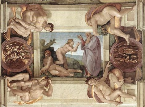 Creation of Eve, Michelangelo