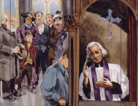 聽告解是聖若望.維雅納的重要牧民工作