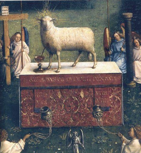 基督羔羊已獲得了勝利 (Ghent Altarpiece by van Eyck)