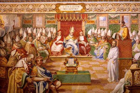 第一次尼西亞大公會議:即使是大公會議都不能改變天主的法律(Wikimedia)