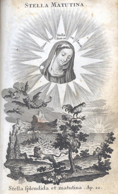 曉明之星,我們也可倚靠她、我們天上的母親。(網上圖片)
