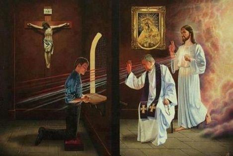 修和聖事是耶穌親自赦免我們的罪,咁你今個四旬期搵佢赦咗未?(網上圖片)