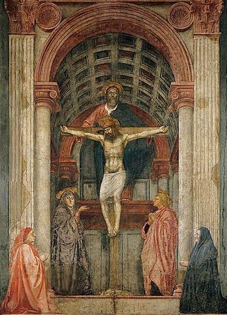 Santa Maria Novella, Florence by Masaccio