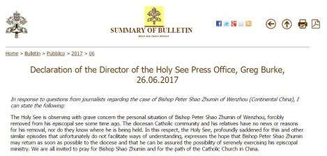 Declaration-BishopShao