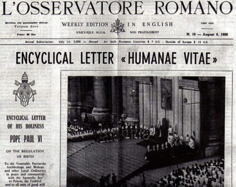 LOsservatoreRomano-HumanaeVitae