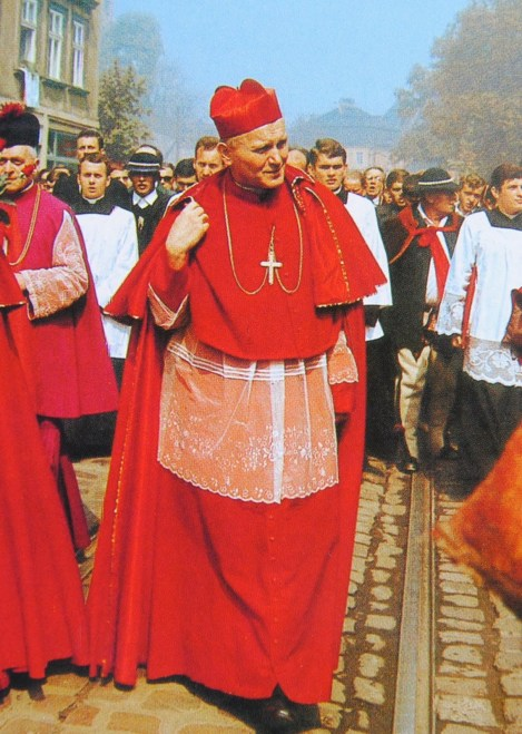 cardinal wojtyla cape