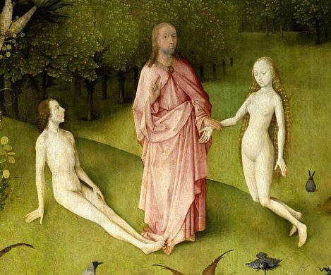 577px-Der_Garten_der_Lüste_-_Christus,_Adam_und_Eva