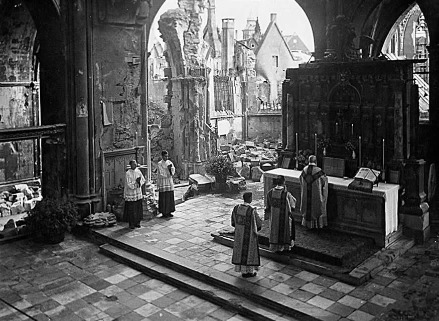 mass-during-wwii