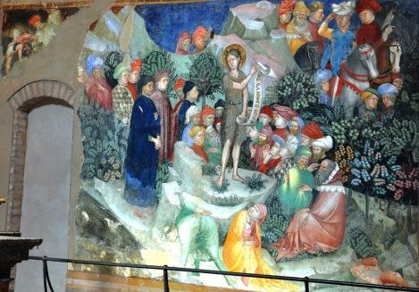Lorenzo e Jacopo Salimbeni, The Life of John the Baptist, 1416:
