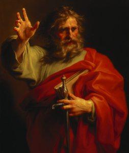 ST PAUL by Pompeo Batoni (1708-1787) from Basildon Park