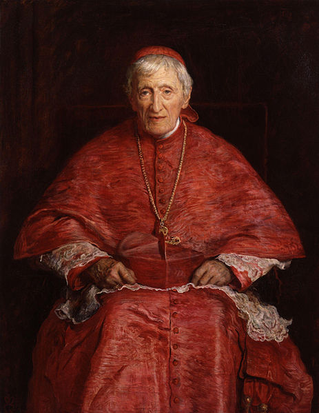 463px-John_Henry_Newman_by_Sir_John_Everett_Millais,_1st_Bt