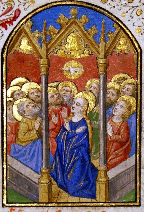 Pentecost-BooksHours-15century